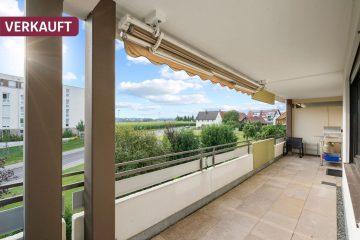 DREIZLER – 3-Zimmer-Etagenwohnung mit großem Balkon in Wiggenhausen, 88046 Friedrichshafen, Etagenwohnung