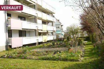 DREIZLER – Gepflegte 4-Zimmer-Wohnung mit Balkon in Wiggenhausen, 88046 Friedrichshafen, Etagenwohnung