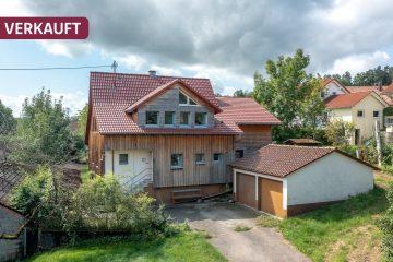 DREIZLER – Einfamilienhaus mit viel Platz in ruhiger Lage von Zußdorf, 88271 Wilhelmsdorf, Einfamilienhaus